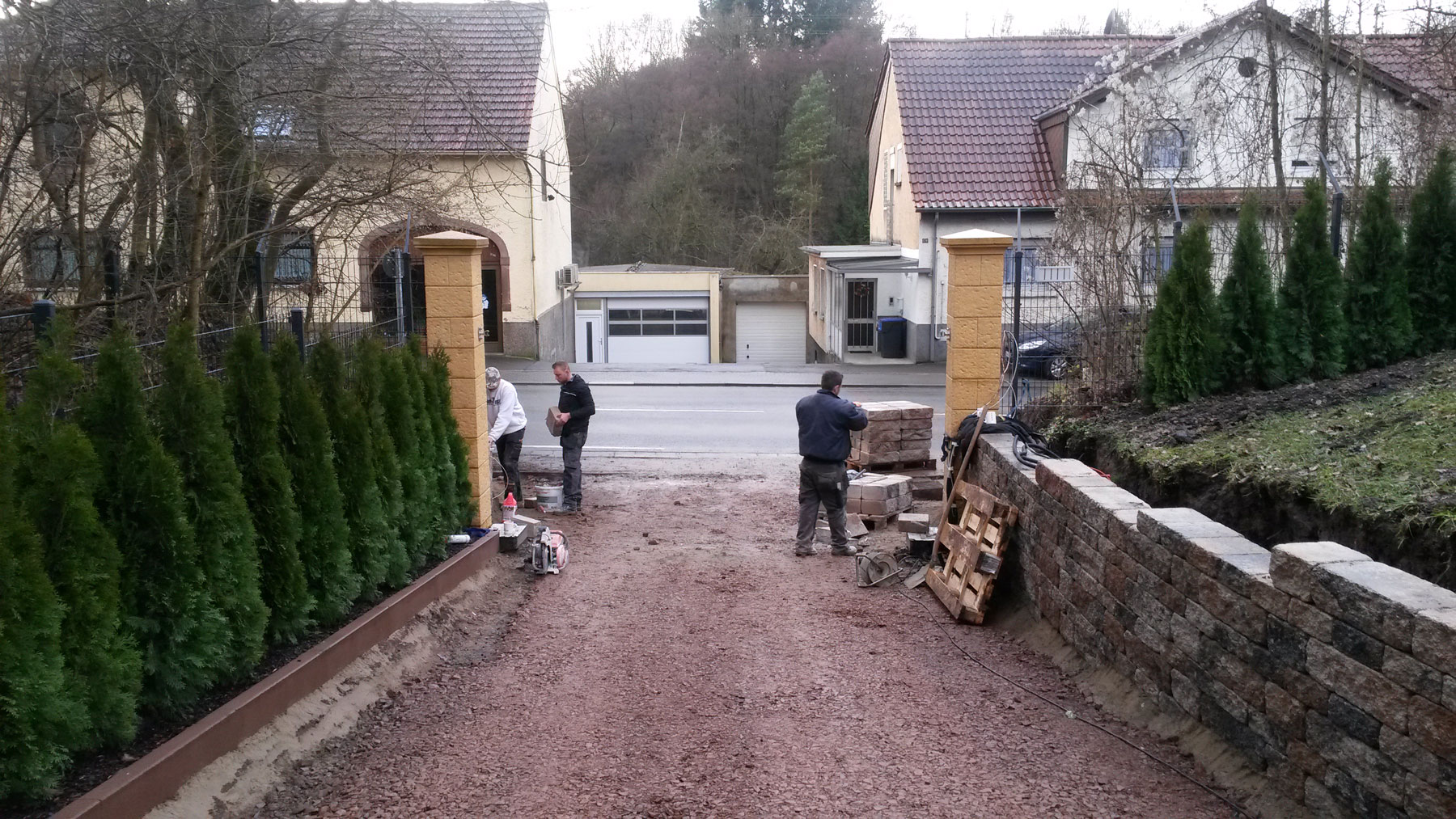 Treppen Saarland treppen und stützwände crncic bauunternehmen saarland